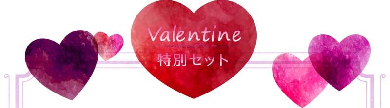 バレンタイン特別セット 数量限定