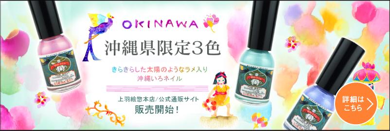 【限定】沖縄限定3色