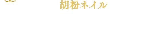 胡粉ネイル 冬の小箱 2019 恋衣(こいごろも)