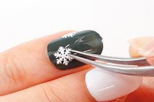 簡単!雪の結晶『大人可愛い変わりフレンチ』