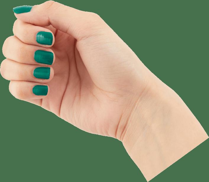 松葉緑青(まつばろくしょう)手サンプル