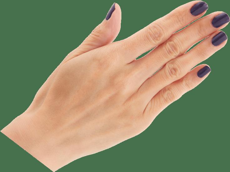 紫紺(しこん)手サンプル